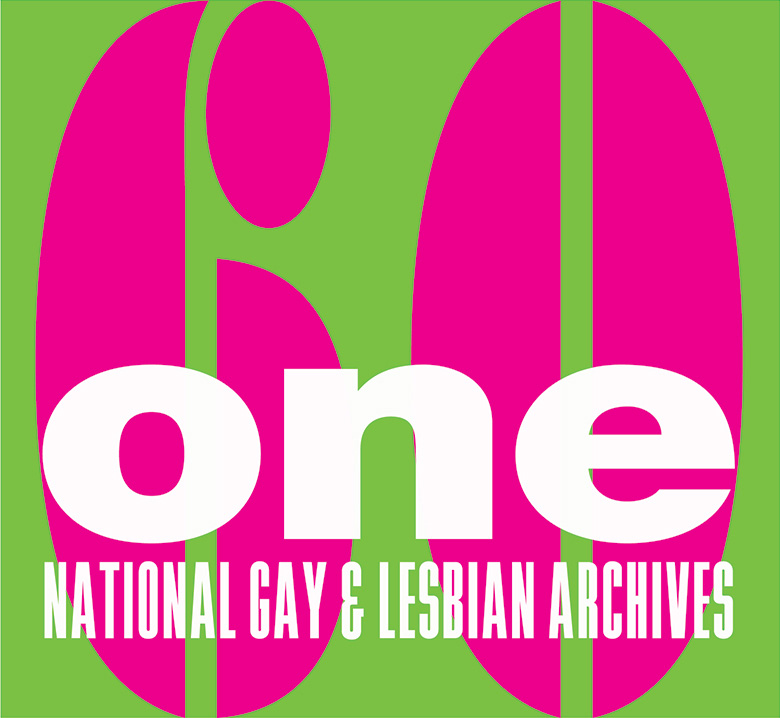 National Lesbian & Gay Archives 60th Anniversary Logo