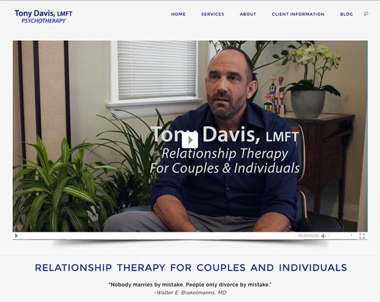 Couples Therapist Los Angeles Website